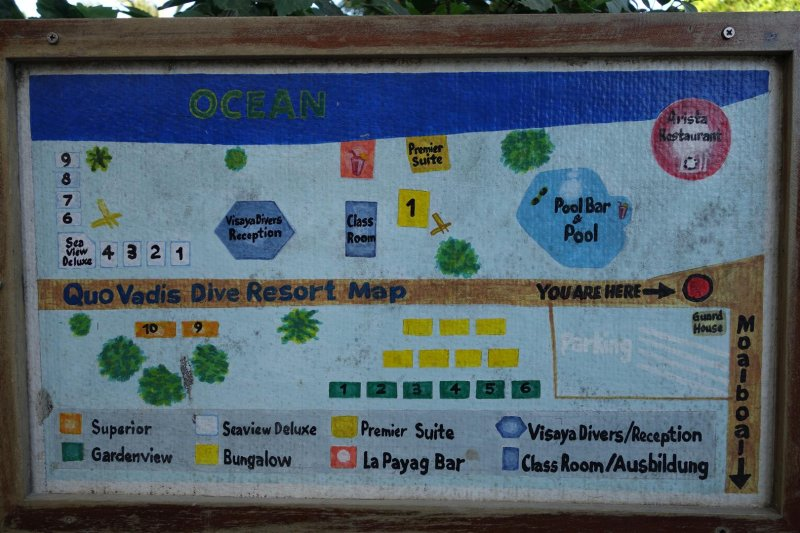 Map of the resort